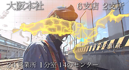 JR西日本の安全運行を支える