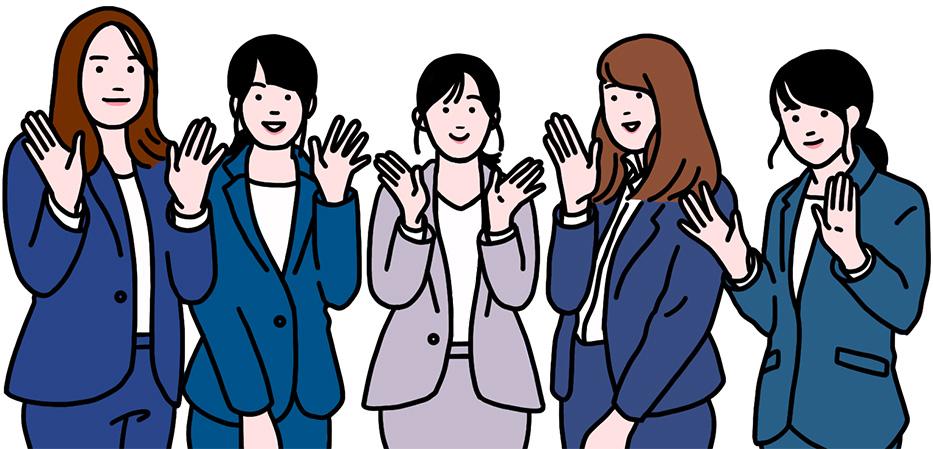 レールテック女性社員の本音トーク風景