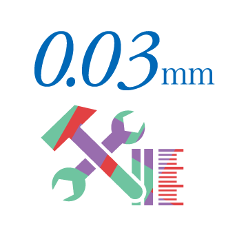 0.03mm